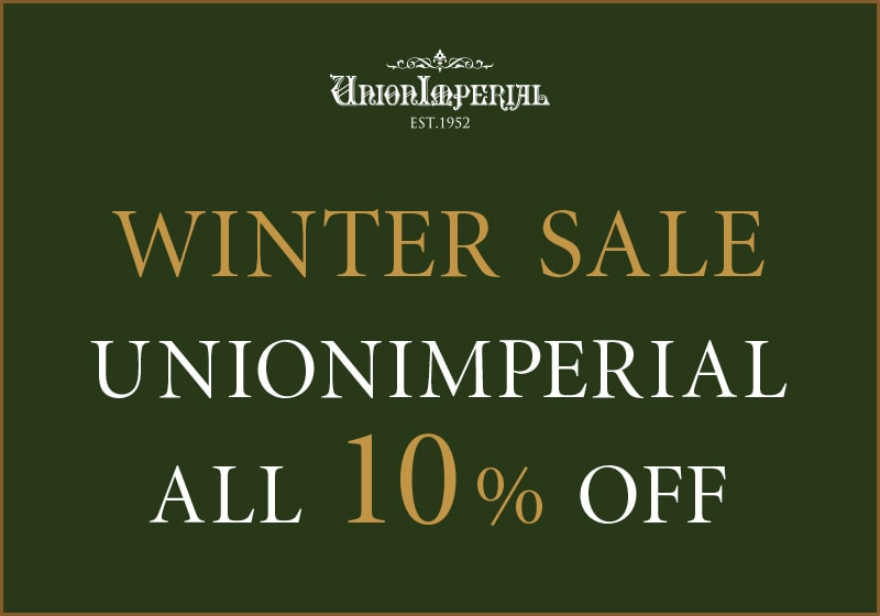 WINTER SALE! UNIONIMPERIAL ALL 10% OFF